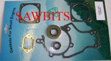 STIHL 038 GASKET SET COMPLETE WITH OIL SEALS